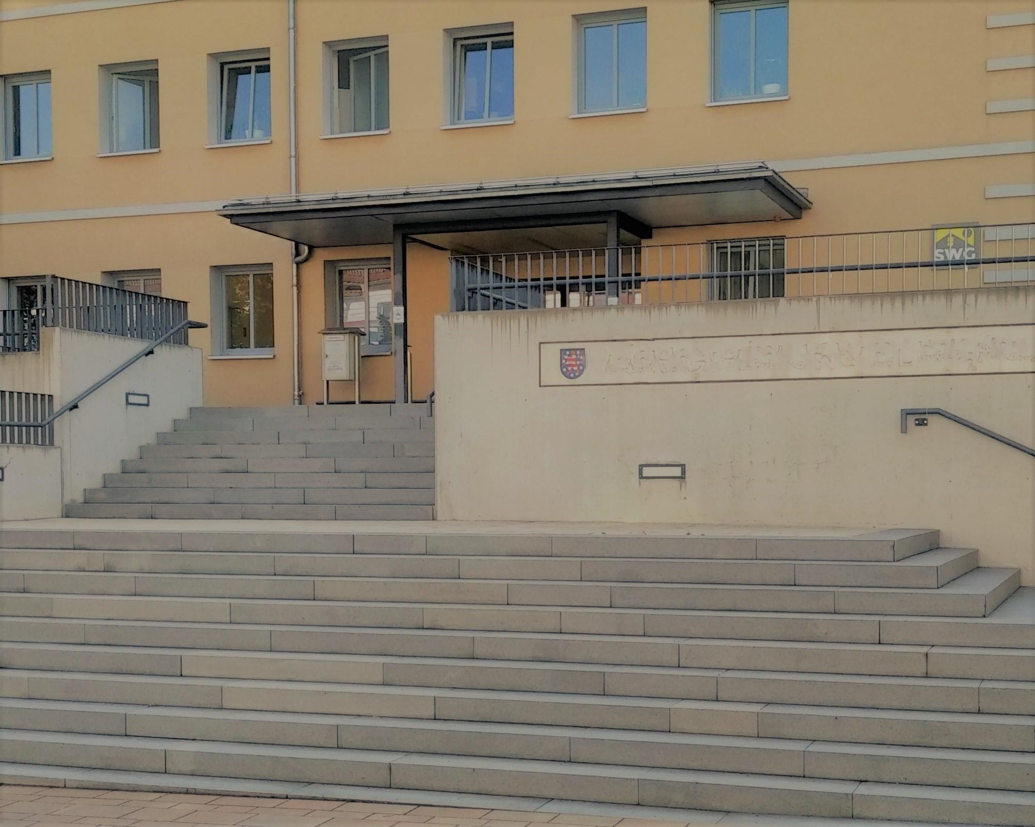 [Bild] Gebäudeansicht Arbeitsgericht Nordhausen