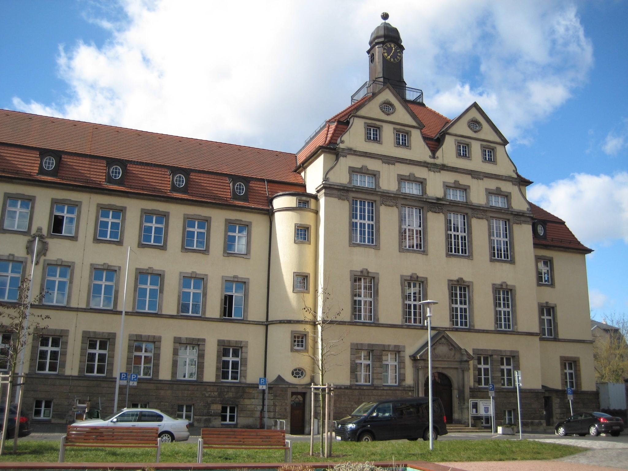 [Bild] Gebäudeansicht Amtsgericht Eisenach