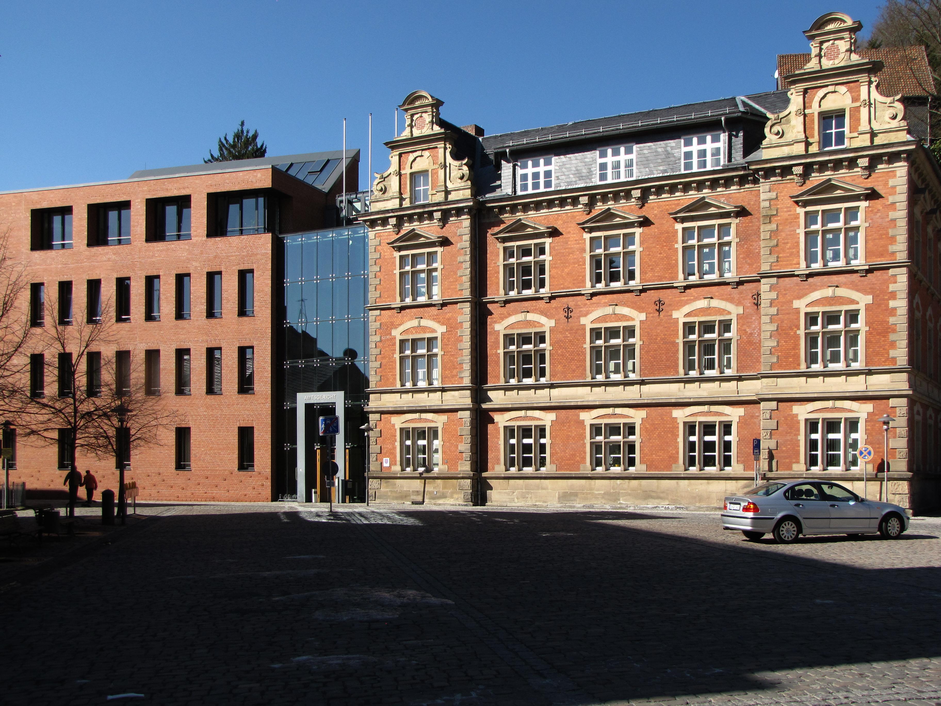 [Bild] Gebäudeansicht Amtsgericht Sonneberg
